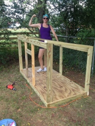 Can she build it?! Yes she can!!